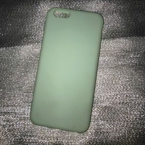 iPhone 6 mint green thin phone case